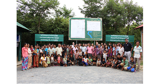 Visit community forestry in Kraing Serey